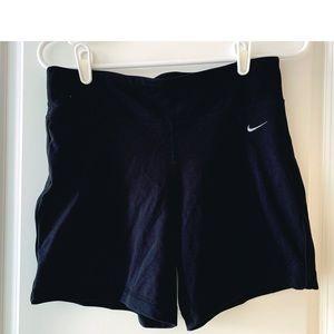 Nike   womens   dri-fit black shorts   medium